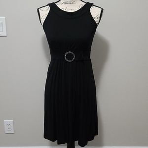 Michael Kors Black Belt Design Dress XS